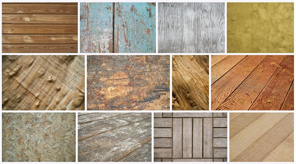 Разные виды напольного покрытия